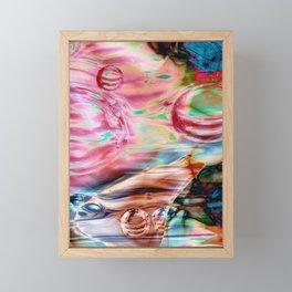Spheres Framed Mini Art Print