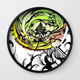 Compass Journey Wall Clock