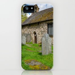 St Michael's Church Betws y Coed iPhone Case