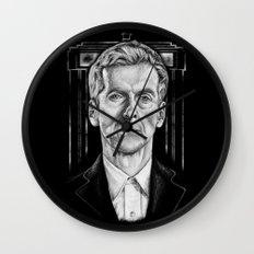 The 12th (Dark Variant) Wall Clock
