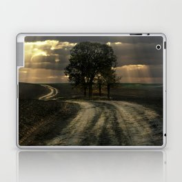An old forgotten road Laptop & iPad Skin