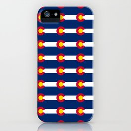 colorado pattern iPhone Case