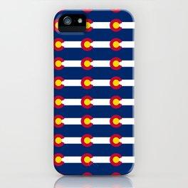 colorado pattern iPhone Case