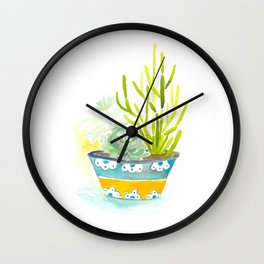 Cacti & Succulents Wall Clock