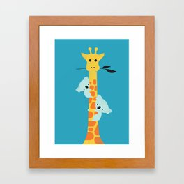 I'll be your tree Framed Art Print