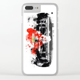 ayrton Clear iPhone Case