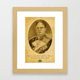 Kaiser Dwight Framed Art Print
