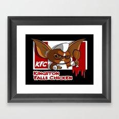 Kingston Falls Chicken Framed Art Print