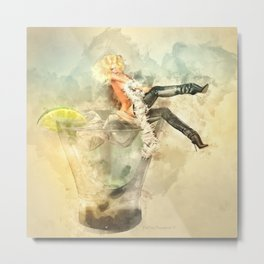 Shaken, not stirred Metal Print