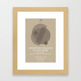 Ghosting Seasons Framed Art Print