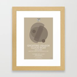 Ghosting Seasons Framed Art Print