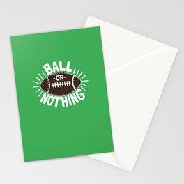 B\LL OR NOTH/NG Stationery Cards