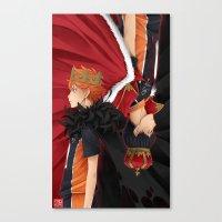 haikyuu Canvas Prints featuring HAIKYUU!! - KINGS by zero0810