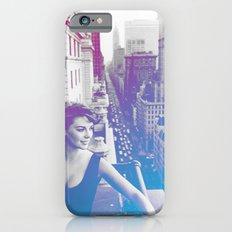 Natalie Wood Cityscape iPhone 6 Slim Case