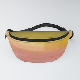 Pink and Chartreuse Fanny Pack