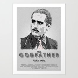 The Godfather - Part Two Art Print