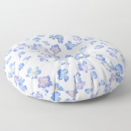 Pansy Pattern Floor Pillow