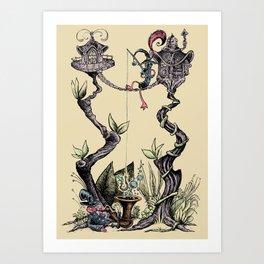 Tree Fun! Art Print