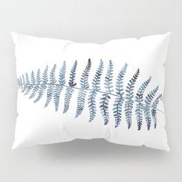 Indigo Fern 1 | Watercolour Painting Pillow Sham