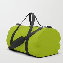 High Mileage ~ Leaf Green Duffle Bag