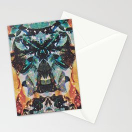 Rorschach Flowers 7 Stationery Cards