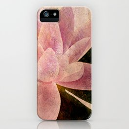 Lotus of my Heart iPhone Case
