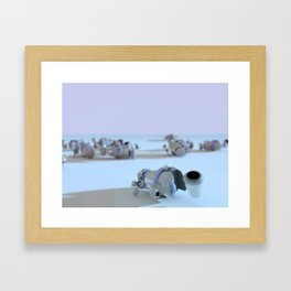 Deactivated Framed Art Print