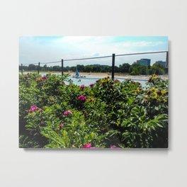 Gardens and Beaches Metal Print