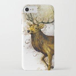 Deer Art iPhone Case