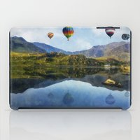 aviation iPad Cases featuring Morning Flight by Ian Mitchell