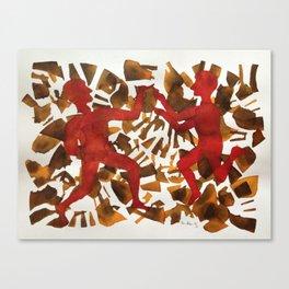 Fall Dance Canvas Print