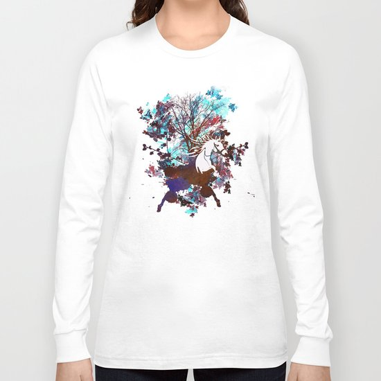 Forest Explosion Long Sleeve T-shirt