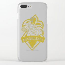 SFV BIRDIE Clear iPhone Case