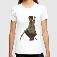 katniss T-shirts featuring Katniss Everdeen by Kate O