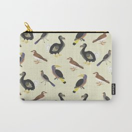 medieval illustration BIRDS Carry-All Pouch