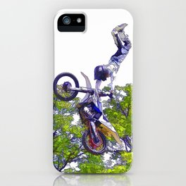 Hand Stand Pro - Freestyle Motocross Stunt iPhone Case