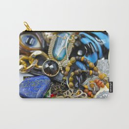 Jewelry Cluster 2 Carry-All Pouch