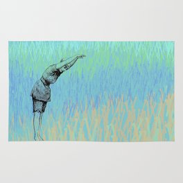 Swimmer ~ The Summer Series Rug