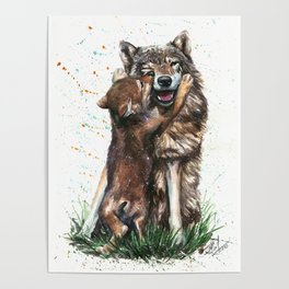 Wolf - Father and Son Poster