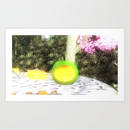 Cult of Youth: We are is what we eat Art Print