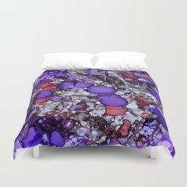 Erratic Purple Duvet Cover