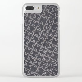 Life is a puzzle 28 Clear iPhone Case