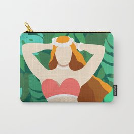 BEAUTY IN JUNGLE Carry-All Pouch
