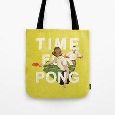 Time For Pong Tote Bag