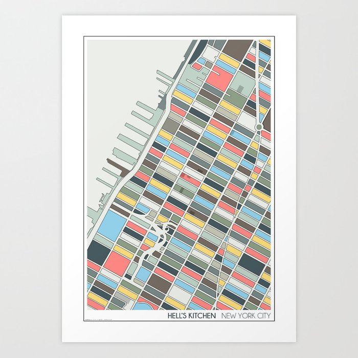 New York City Art Print By