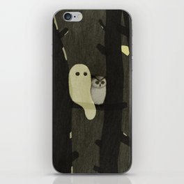 Little Ghost & Owl iPhone Skin