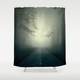 Foggy Stories Shower Curtain