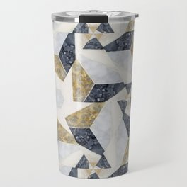 Marble Tesselations Travel Mug