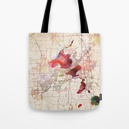 Madison map Tote Bag