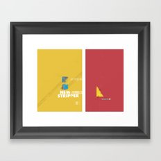 Stripper series Framed Art Print